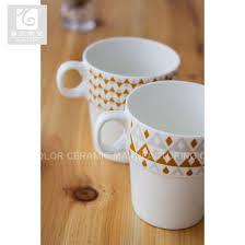 Smart Printing Stackable Tea Mug Liling Coffee 10oz