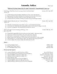 Sample Resume For School Counselor Cosy Elementary Also Counseling Content