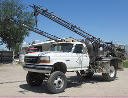 100 1992 Ford Truck F450 Super Duty Sprayer Truck Item C5458 SOLD