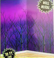 Halloween Scene Setters Uk by Enchanted Forest Wall Mural Home Design