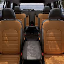 Used Wooden Captains Chairs by 2018 Vw Atlas Sel Premium With 4motion Volkswagen