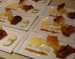 dessert assiette gourmande facile noël 2009 plat 6 le dessert bûchette de pommes caramélisée