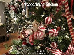 Raz Christmas Trees by Raz Peppermint Kitchen Christmas Collection Shelley B Home And