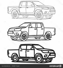 Stock Illustration Pickup Truck Outline Set On   ORANGIAUSA Fire Truck Outline 0 And Coloring Pages Clipart Line Drawing Pencil And In Color Truck Semi Rear View Drawing Peterbilt Coloring Page Icon Vector Isolated Delivery Stock Royalty Trailer Pages At 10 Mapleton Nurseries Template On White Free Printable Of Cars Trucks With Pickup Encode To Base64 Simple Icons Download Art Clipart Black Awesome At