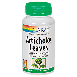 Solaray Artichoke Leaves - 405mg, 100 Capsules