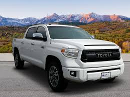 Pre-Owned 2016 Toyota Tundra 4WD Truck Platinum Crew Cab Pickup In ...