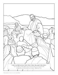 Coloring Pages For Matthew 6 Colouring