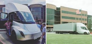 100 Trucking Companies In Arkansas Tesla Semi Prototype Shows Up At Potentially Critical Customer
