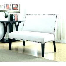 Upholstered Dining Room Bench With Back High