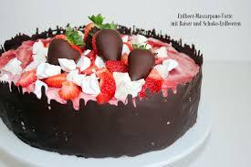 rezept erdbeer mascarpone torte das süße leben