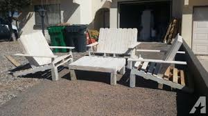 Reclaimed Pallet Patio Furniture For Sale In Rio Rancho New Mexico Classified