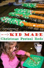 Halloween Pretzel Sticks by Chocolate Dipped Pretzel Rods Mess For Less