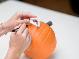 Vampire Pumpkin Designs by How To Craft A Fun And Festive Vampire Pumpkin Hgtv