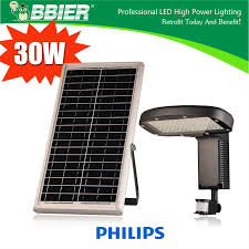 12v 30w solar powered outdoor adjustable led wall pack motion