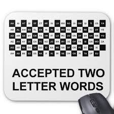 Two Letter Words With Z