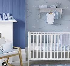 chambre bebe decoration deco chambre bebe bleu ciel visuel 8