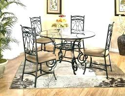 Cast Iron Table And Chairs Dining Room Set Wrought