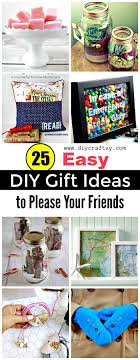 25 Smart And Easy DIY Gift Ideas To Please Your Friends