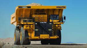 100 Haul Truck Komatsu Introduces 400ton Electricdrive Rear Dump Truck