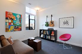 Home Music Lounge Austin Interior Design By Room Fu Knockout Interiors