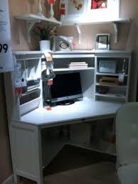 Ikea Hemnes Desk White by Ikea Micke Corner Workstation Desk Unit White With Birch