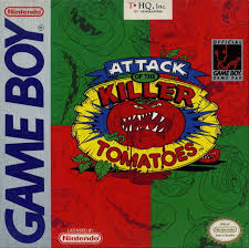 Attack of the Killer Tomatoes Box Shot for Game Boy GameFAQs