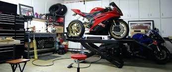 Motorcycle Garage Storage Mule Motorcycles Workshop Solid Bench