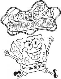 Spongebob Squarepants Coloring Pages Christmas Pictures