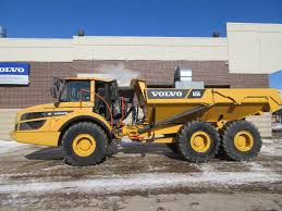 100 Articulated Trucks Volvo A25G Construction Equipment Volvo CE
