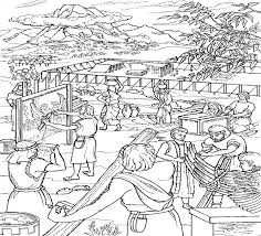 Moses And The Israelites Build Tabernacle Coloring Page This Will Help You