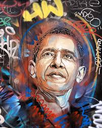 100 C215 Art Barack Obama In Place DItalie Paris By All Art That I Love