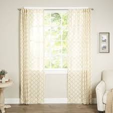 Smocked Burlap Curtain Panels by Smocked Burlap Curtains Wayfair