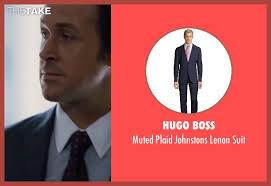 hugo plaid suit gosling hugo muted plaid johnstons lenon suit from the