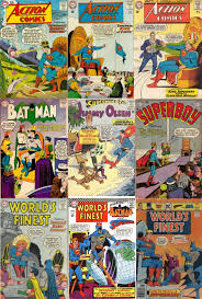 King Transformations Collage Key Action Comics 244 Undersea
