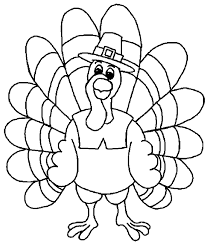 Kids Coloring Pages Thanksgiving
