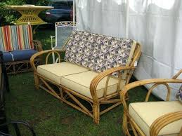 Vintage Rattan Furniture Bamboo And For Medium Size