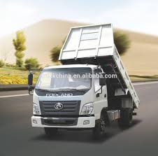 Foton 4x2 Light Duty Rhd Dump Truck With Foton Truck Price - Buy ...