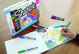 999 Reg 30 Sharpie Markers 20 Pack Adult Coloring Book