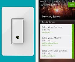 The Belkin WeMo Light Switch es to SmartThings Labs