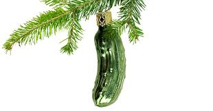 The Christmas Pickle A Tradition Taken With Pinch Of Salt