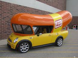 A Mini Cooper-based Miniature Wienermobile. | Mini | Pinterest ...