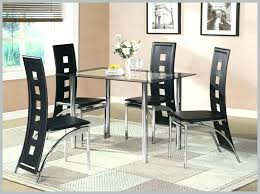 Quality Dining Room Sets High Furniture Cute Black Glass Table Set And Top Tables