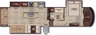 Fifth Wheel Campers With Front Living Rooms by New Or Used Fifth Wheel Campers For Sale Rvs Near Mcgeorge Rv