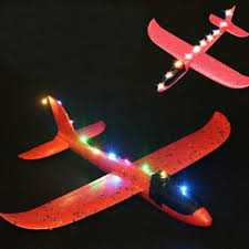 100 Parts Of A Plane Wing LED Light For Epp Hand Launch Throwing Toy DIY Modified Random Colour
