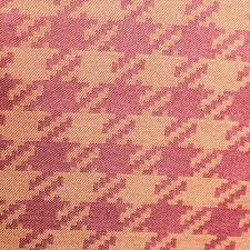 Image For Coral Hounds Tooth Upholstery Drapery Curtain Fabric By The Yard At