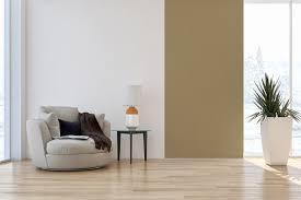 zweifarbige wände ideen zum streichen tapezieren gestalten