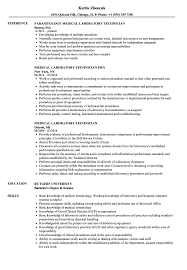 Download Medical Laboratory Technician Resume Sample As Image File