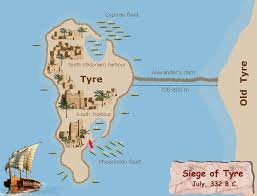 siege andre s caign siege of tyre