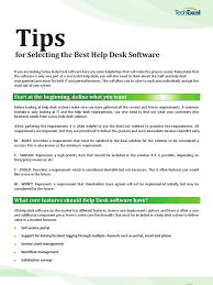 Best Help Desk Software by Download Top 10 Considerations For Selecting Help Desk Software