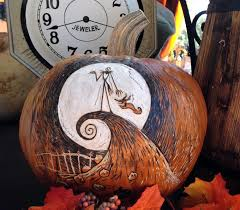 Jack Skellington And Sally Pumpkin Template by Halloween Pumpkin Carving At Its Finest Oh My Disney